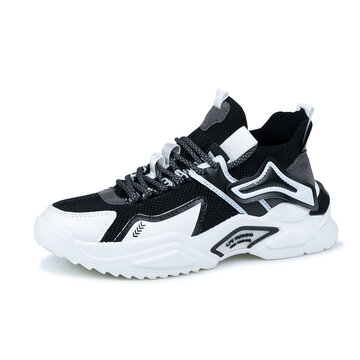 Men Breathable Chunky Sneaker Shoes