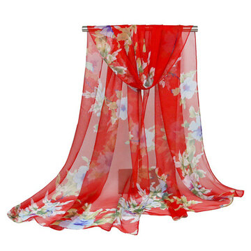 Women Soft Chiffon Shawl