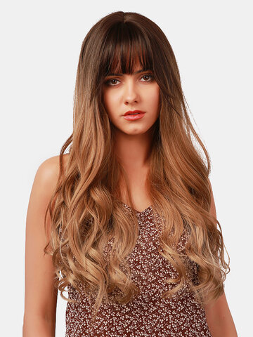 26 Inch Long Curly Wig