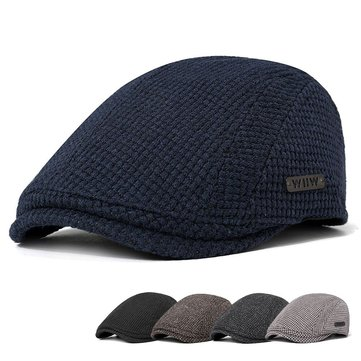 Men Casual Gatsby Flat Beret Cap Adjustable