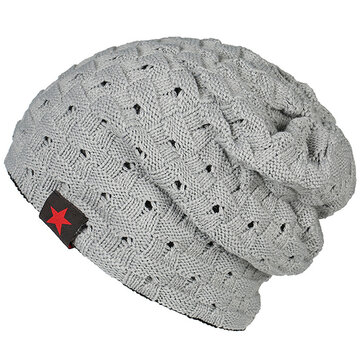 Five Star Warm Solid Knitted Stripe Hat