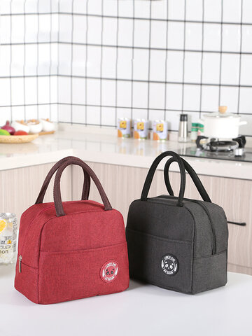 Cationic Series Waterproof Portable Insulation Bag Insulated Lunch Box Bag Insulation Bag Lunch Bag Thickened With Rice Bag Ice Bag
