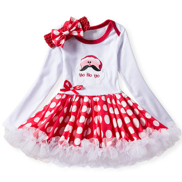 Baby Girls Christmas Dress For 0M-24M