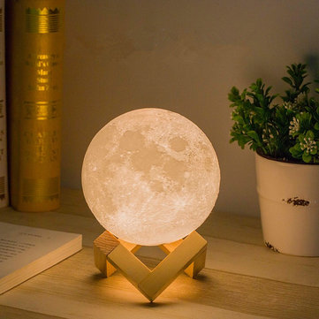 12cm 3D Magical Moon Lamp