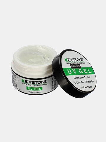 Clear Color Nail Art UV Top Coat Gel Seal Glue