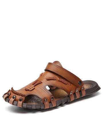 Sandálias Gladiador Masculino Sem Cola
