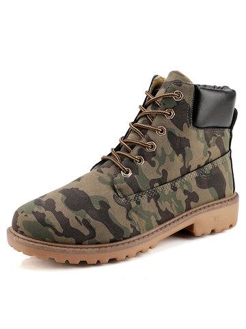 Men Non Slip Comfy Tooling Boots