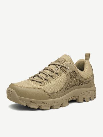 Men Cloth Non Slip Casual Hiking Sneakers