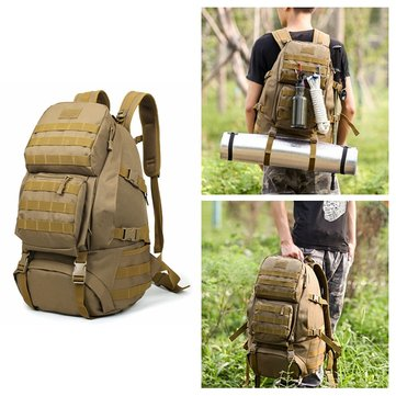 55L Outdoor Travel Waterproof Climbing Bag Backpack