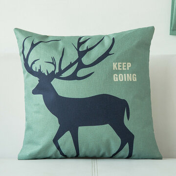 Nordic Concise Style Cushion Cover, Green