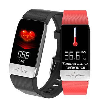 ترمومتر ECG مراقب قلب معدل دم الضغط SpO2 مراقب الصحة Care GPS تشغيل المسار المسار ذكي