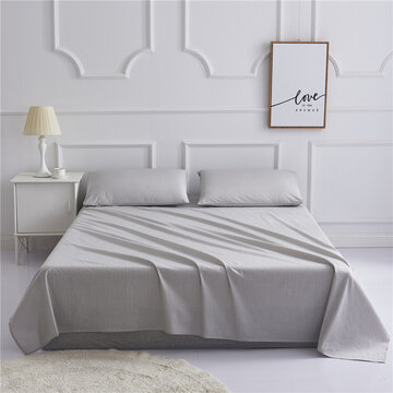 Cotton Bed Cover Fitted Sheet Home Textile Bedding