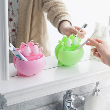 Wall Hanging Toothbrush Racks Suction Cup Holder