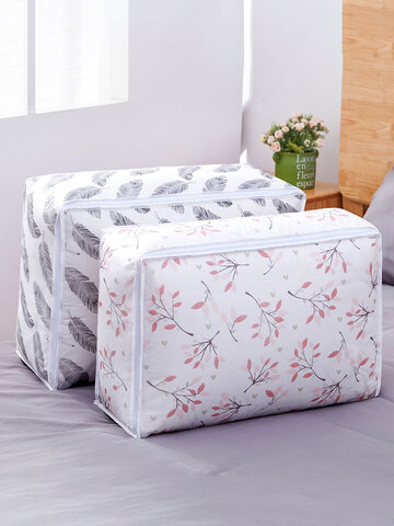 Folding Washable PEVA Quilts Storage Bags