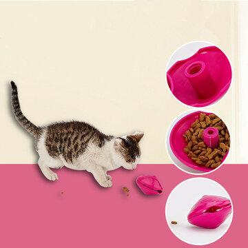 Yani Cat Toys Interactive Dispenser Pet Treat Jouer Fun Toys Feeders Fournitures pour animaux de compagnie