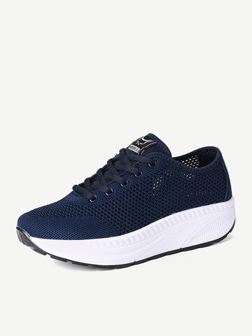 Mesh Hollow Breathable Slip Resistant Shake Shoes