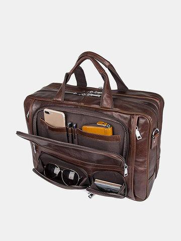 Multifunction Waterproof Briefcase Handbag