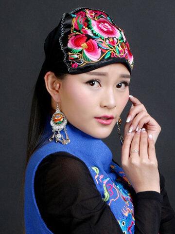 Ethnic Style Beanie Hat