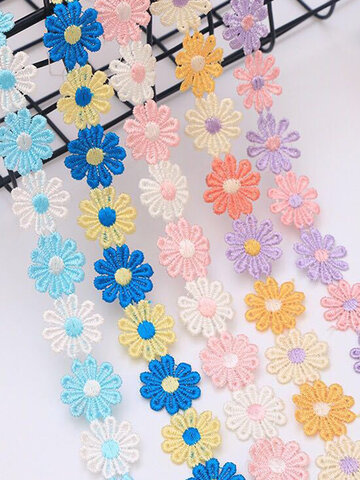 2.5cm Multi-color Lace Small Flower DIY Handmade Accessories