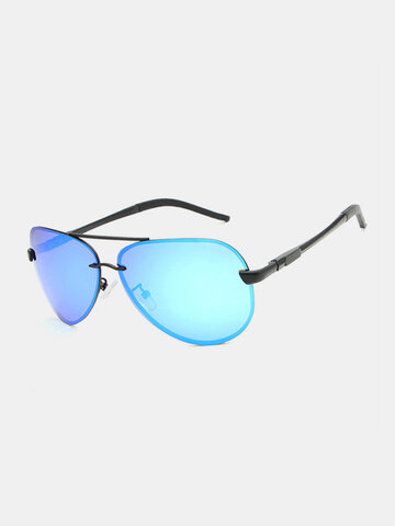 Metal Frame Polarized Sunglasses
