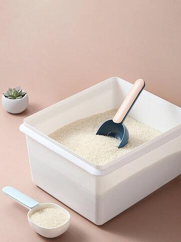 キッチン多機能プラスチックライススプーン家庭用食品シャベル小麦粉シャベル穀物多粒シャベル