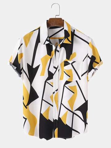 Abstract Geometry Holiday Shirt