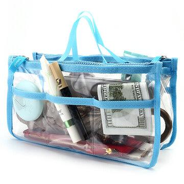 EVA Transparente Umweltschutz Kosmetiktasche Kosmetikum Tasche
