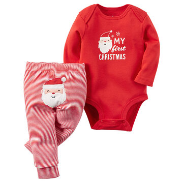 Christmas Baby Clothing Set For 0-24M