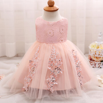 Sequins Baby Girls Party Dress For 0-18M