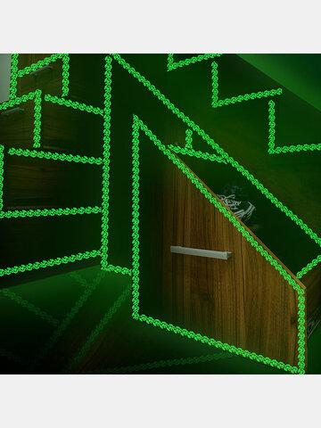 1 STÜCK 3*200 CM Leuchtband Selbstklebende Aufkleber Glow In The Dark Wohnkultur Treppe Sicherheit Warnung Fluoreszierende Blume Wandaufkleber