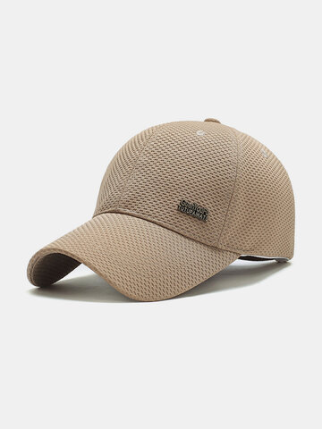Men's Solid Baseball Cap