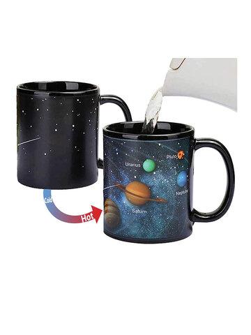 Starry Solar System Ceramic Color Mug Cups & Mugs