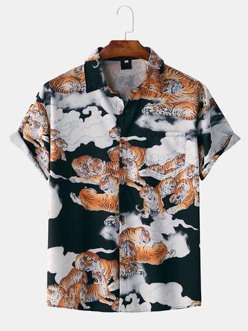 قميص تايجر تشيونغ كلاود