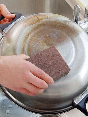 Kitchen Nano Emery Sponge Wipe Scale Cleaning Sponge In addition to Rust Decontamination Sponge