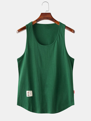 Simple Multi Color Breathable Tank Top