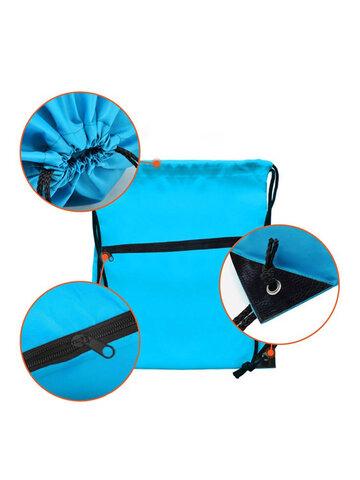 Drawstring Storage Bag Outdoor Sports Backpack