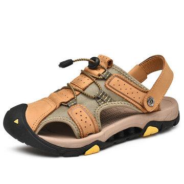 Sandali da trekking per uomo, anti-collisione, da esterno