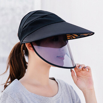 COLLROWN Double-layer Big-edge Anti-UV Removable Sun Visor