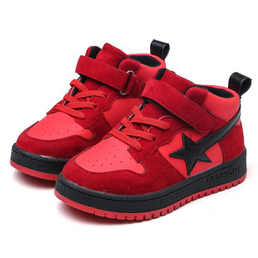 Boys Star Pattern Sport Casual Shoes
