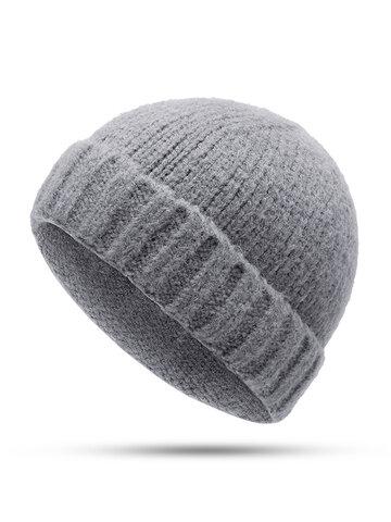 Vogue Wool Knit Brimless Cap