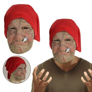 ハロウィン老人おかしいマスク