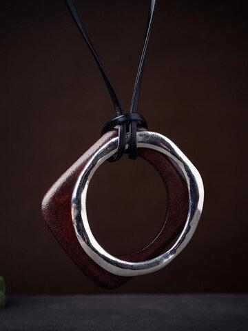 Statement Big Pendant Necklace