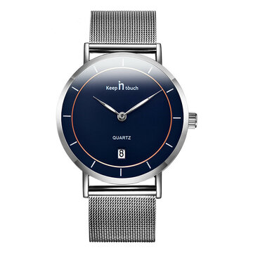 Minimalist Date Men Watch