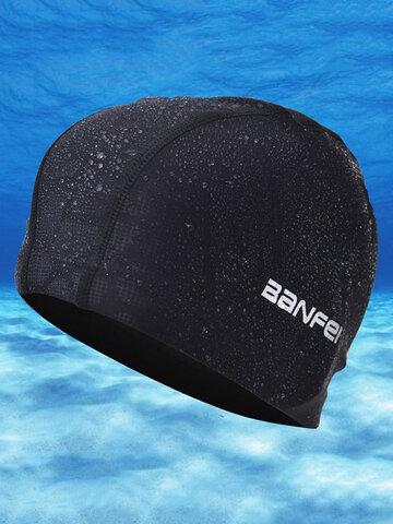 Mens Waterproof Swimming Cap
