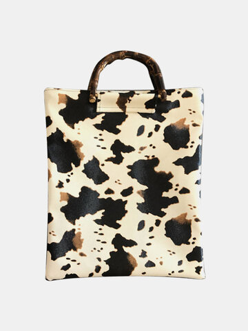 Kuh-Muster-Tasche