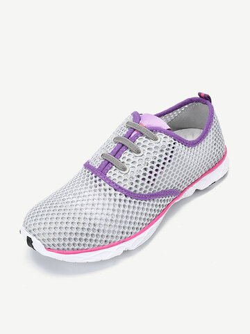 Women Mesh Honeycomb Breathable Quick Drying Outdoor Shoes
