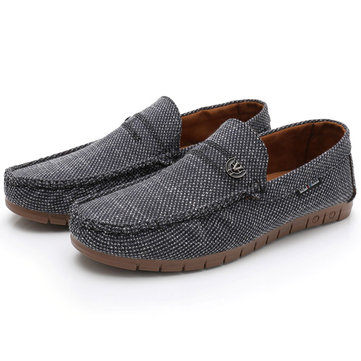 Men Fabric Soft Casual Driving Shoes