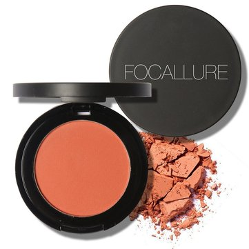 FOCALLURE Blush Smooth Mineral Natural Professional Face Makeup Blusher Powder