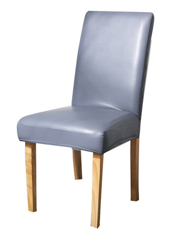 Waterproof PU Leather Stretch Chair Seat Cover