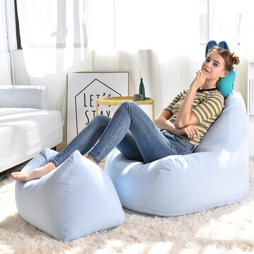 Ins Nordic Rabbits Lazy Sofa Pregnant Women Single Bedroom Balcony Recreational Chair Small Household Bean Bag Epp Removable